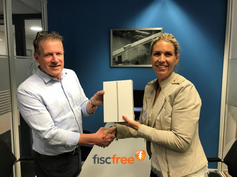 iPad winnaar Ewals Cargo Care FiscFree